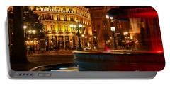 Hotel Du Louvre Portable Battery Charger