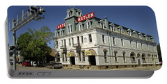 Hotel Metlen Railroad Hotel - Dillon Montana Portable Battery Charger