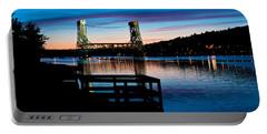 Houghton Bridge Sunset Portable Battery Charger