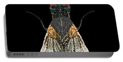 House Fly Bedazzled Portable Battery Charger
