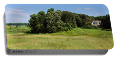 House In A Field, Otter Tail County Portable Battery Charger