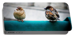 House Sparrows Portable Battery Charger