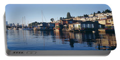 Houseboats In A Lake, Lake Union Portable Battery Charger