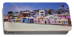 Houses On The Beach, Capitola, Santa Portable Battery Charger