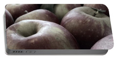 How Do You Like Them Apples Portable Battery Charger by Photographic Arts And Design Studio
