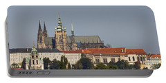 Hradcany - Cathedral Of St Vitus On The Prague Castle Portable Battery Charger
