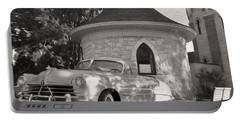 Portable Battery Charger featuring the photograph Hudson Commodore Convertible by Verana Stark