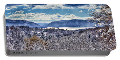 Hudson Valley First Snow Mystic Colors Portable Battery Charger