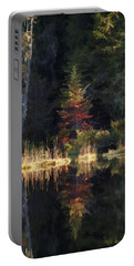 Huff Lake Reflection Portable Battery Charger
