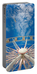Huge Ferris Wheel Portable Battery Charger