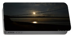 Humber Bridge Sunset Portable Battery Charger