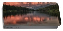 Hume Lake Sunset Portable Battery Charger