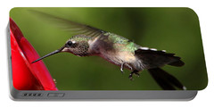 Look Hummer Eyelashes Portable Battery Charger by Reid Callaway
