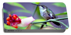 Portable Battery Charger featuring the photograph Hummingbird by Deena Stoddard