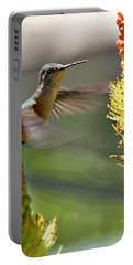 Hummingbird Feeding Portable Battery Charger