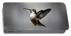 Hummingbird Portable Battery Charger by Savannah Gibbs