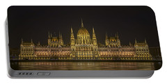 Hungarian Parliament Building Night Portable Battery Charger