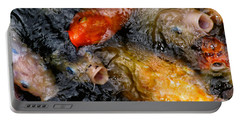 Hungry Koi Fish Portable Battery Charger