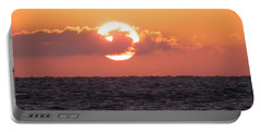 Hunting Island Sunrise Portable Battery Charger
