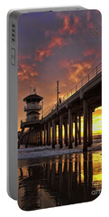 Huntington Beach Pier Portable Battery Charger