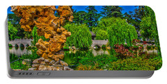 Huntington Gardens Ca Portable Battery Charger by Richard J Cassato