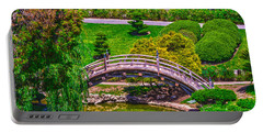 Huntington Library Ca Portable Battery Charger by Richard J Cassato