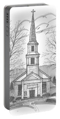 Hurley Reformed Church Portable Battery Charger