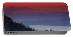 Hurricane Ridge Sunset Portable Battery Charger