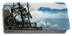 Portable Battery Charger featuring the photograph Hurricane Trail by Faith Williams