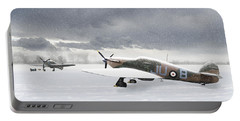 Hurricanes In The Snow Portable Battery Charger