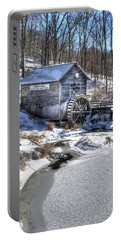 Hyde's  Mill In The Winter Portable Battery Charger