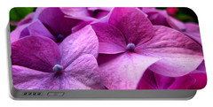 Hydrangea Bliss Portable Battery Charger
