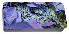 Hydrangea Blossom Portable Battery Charger