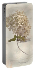Hydrangea Softness Portable Battery Charger