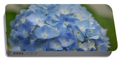 Hydrangea Solitude Portable Battery Charger