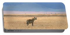 Hyena, Tanzania Portable Battery Charger