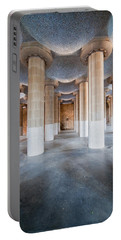 Hypostyle Room In Park Guell Portable Battery Charger