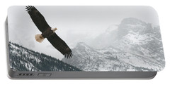 I Am The Eagle Portable Battery Charger