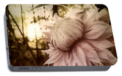 Portable Battery Charger featuring the photograph I Bloom Only For You She Whispered by Susan Maxwell Schmidt