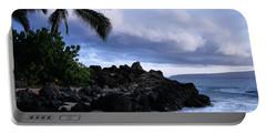 I Ke Kai Hawanawana Eia Kuu Lei Aloha - Paako Beach Maui Hawaii Portable Battery Charger