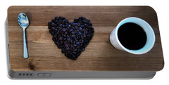 I Love Coffee Portable Battery Charger