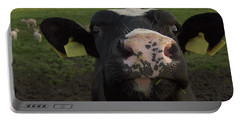 I Love Grass --said The Cow. Portable Battery Charger