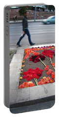 I See Flowers For You Everywhere Portable Battery Charger