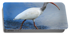 Ibis Visitor Portable Battery Charger by Carol Groenen