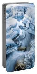 Ice Cathedral Portable Battery Charger