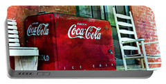 Ice Cold Coca Cola Portable Battery Charger by Benanne Stiens