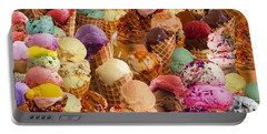 Ice Cream Crazy Portable Battery Charger