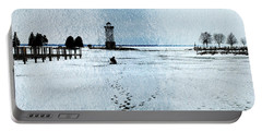 Ice Fishing Solitude 1 Portable Battery Charger