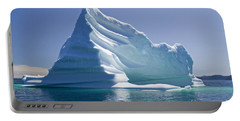 Portable Battery Charger featuring the photograph Iceberg by Liz Leyden