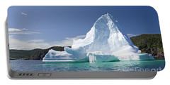 Iceberg Newfoundland Canada Portable Battery Charger